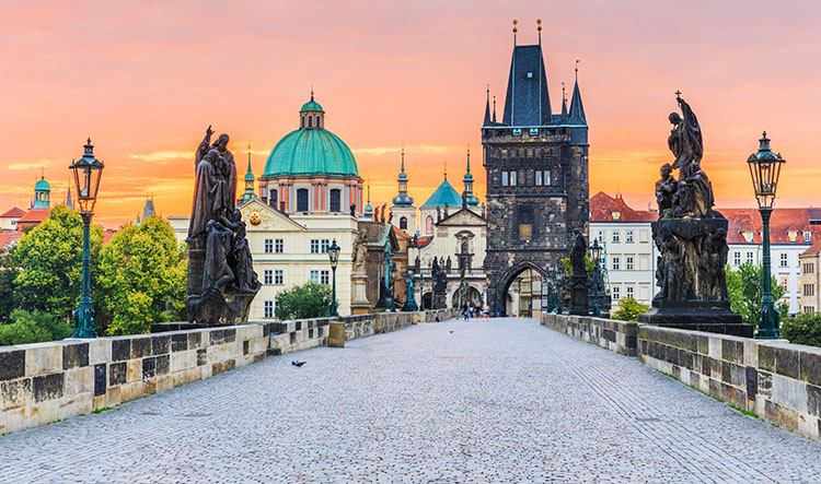 Private Transfer from Central Munich to Central Prague with a Professional Chauffeur in a Mercedes V-Class or E-Class or S-Class